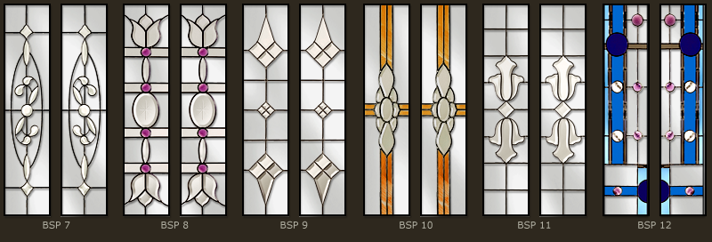 Bevel & Bevelled glass windows 2
