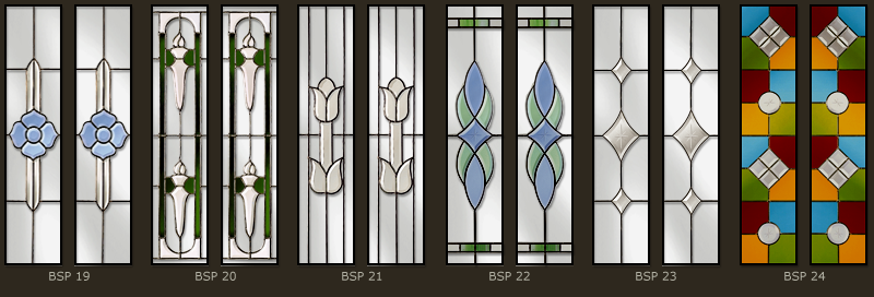 Bevel & Bevelled glass windows 4