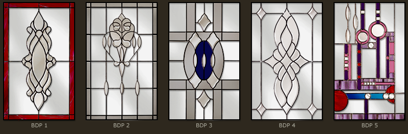Bevel & Bevelled glass windows 6