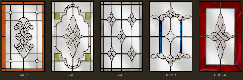 Bevel & Bevelled glass windows 7