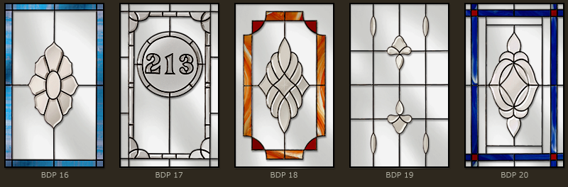 Bevel & Bevelled glass windows 9
