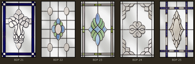Bevel & Bevelled glass windows 10