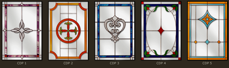 Classic and simple leaded windows 1