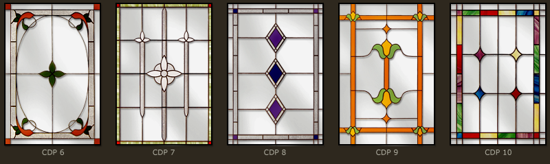 Classic and simple leaded windows 2