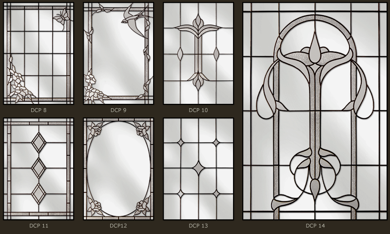 Custom design stained glass windows 2