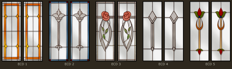 Stained glass for doors and windows 1