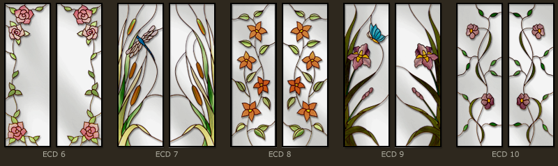 Stained glass for doors and windows 2