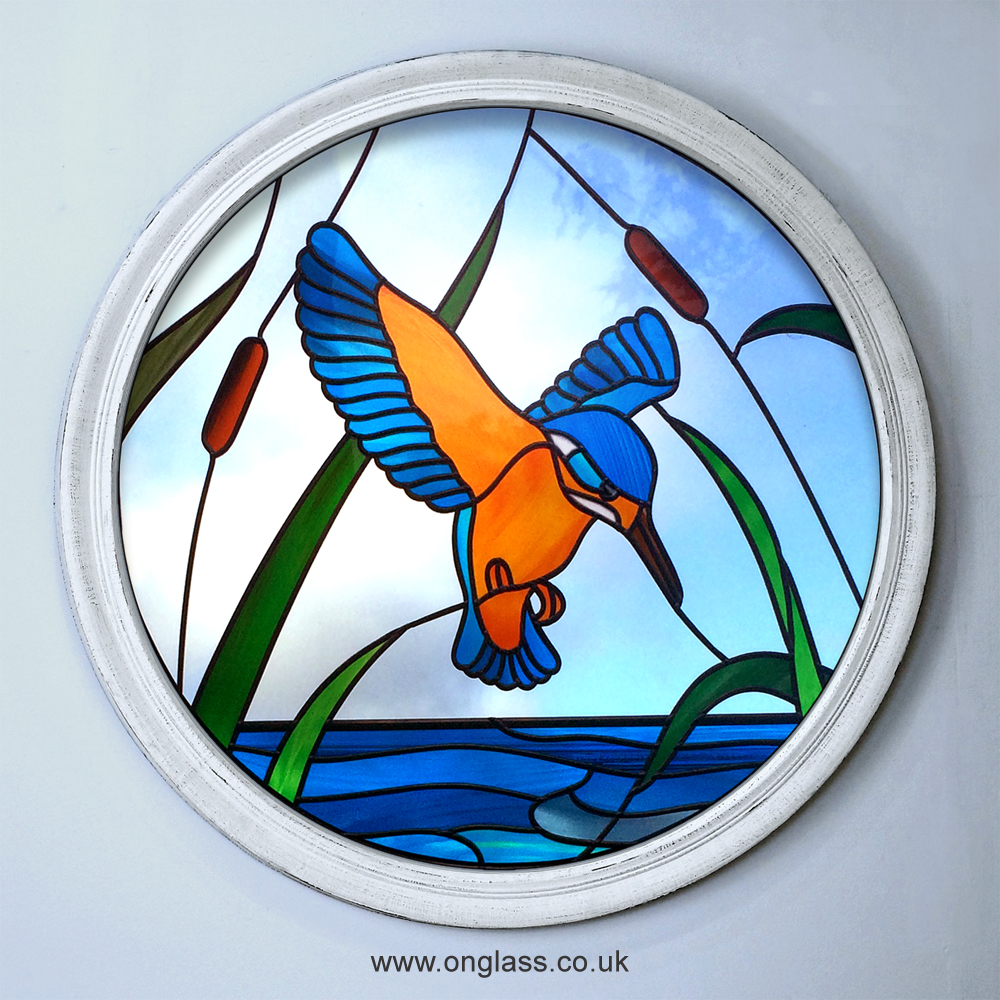 Kingfisher window