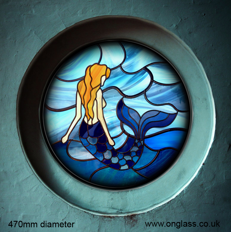 Mermaid window