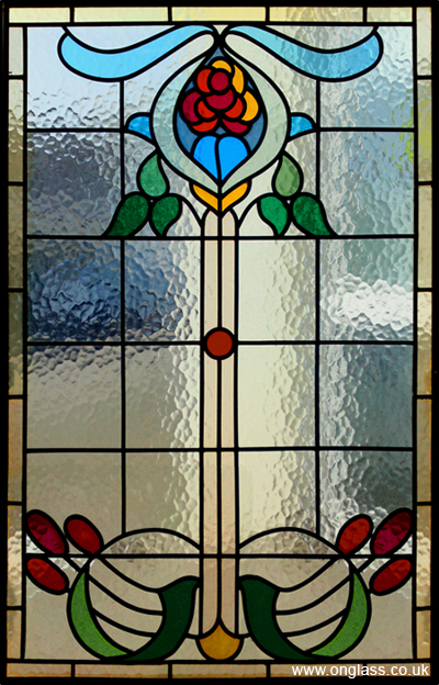 Victorian Minster glass pattern