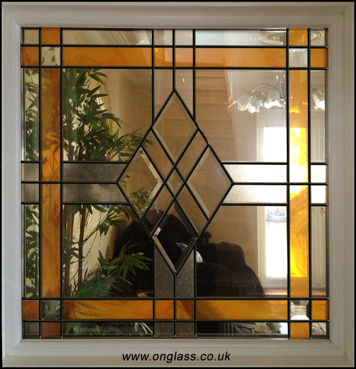 bevel glass window